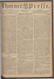 Thorner Presse 1887, Jg. V, Nro. 274