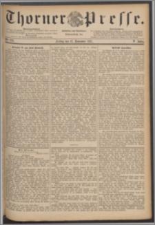 Thorner Presse 1887, Jg. V, Nro. 276