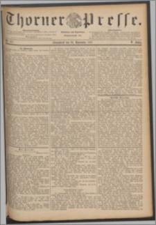 Thorner Presse 1887, Jg. V, Nro. 277