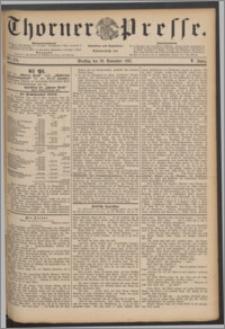 Thorner Presse 1887, Jg. V, Nro. 279
