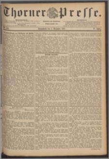 Thorner Presse 1887, Jg. V, Nro. 283