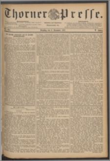Thorner Presse 1887, Jg. V, Nro. 285