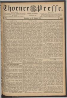 Thorner Presse 1887, Jg. V, Nro. 289