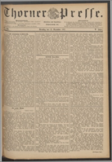 Thorner Presse 1887, Jg. V, Nro. 291