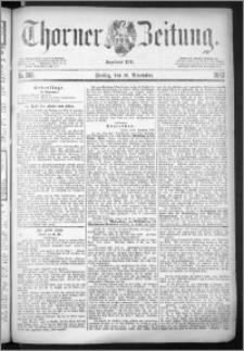 Thorner Zeitung 1883, Nro. 268