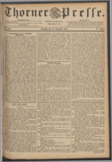 Thorner Presse 1887, Jg. V, Nro. 296 + 1. Beilage, 2.Beilage