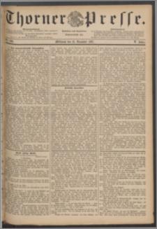 Thorner Presse 1887, Jg. V, Nro. 298 + Beilage, Extrablatt
