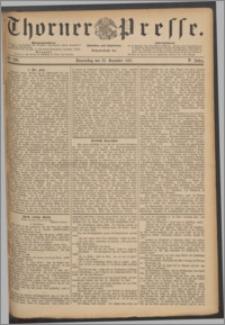 Thorner Presse 1887, Jg. V, Nro. 299