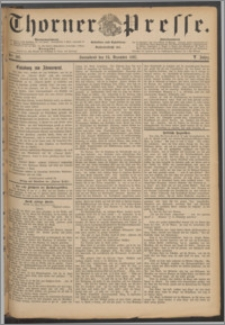 Thorner Presse 1887, Jg. V, Nro. 301