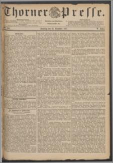 Thorner Presse 1887, Jg. V, Nro. 302 + Beilage, Kalender