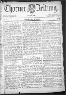 Thorner Zeitung 1884, Nro. 2