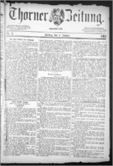 Thorner Zeitung 1884, Nro. 3