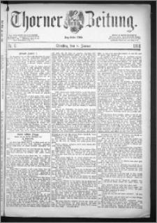 Thorner Zeitung 1884, Nro. 6