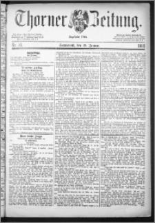 Thorner Zeitung 1884, Nro. 10
