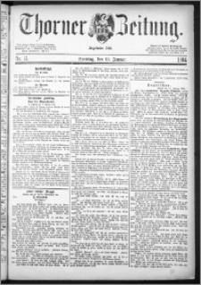 Thorner Zeitung 1884, Nro. 11