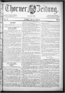 Thorner Zeitung 1884, Nro. 12