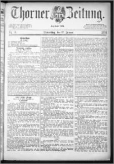 Thorner Zeitung 1884, Nro. 14