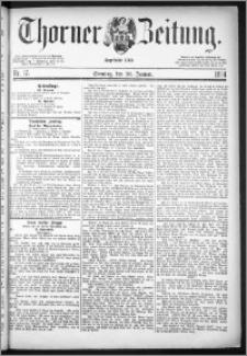 Thorner Zeitung 1884, Nro. 17