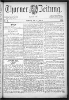 Thorner Zeitung 1884, Nro. 19