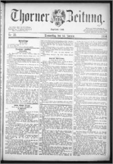 Thorner Zeitung 1884, Nro. 20