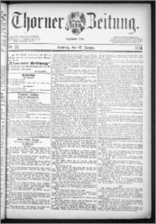 Thorner Zeitung 1884, Nro. 23 + Beilagenwerbung