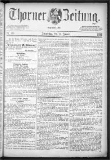 Thorner Zeitung 1884, Nro. 26