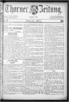 Thorner Zeitung 1884, Nro. 27