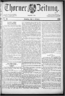 Thorner Zeitung 1884, Nro. 29