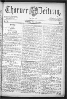 Thorner Zeitung 1884, Nro. 31