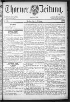 Thorner Zeitung 1884, Nro. 33