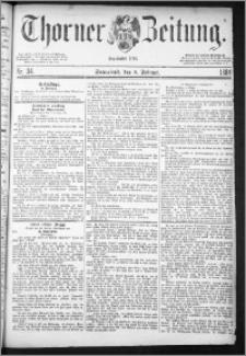 Thorner Zeitung 1884, Nro. 34