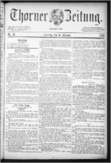 Thorner Zeitung 1884, Nro. 35