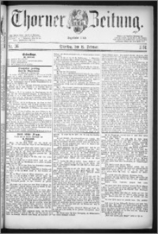 Thorner Zeitung 1884, Nro. 36