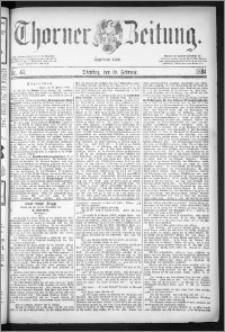 Thorner Zeitung 1884, Nro. 42