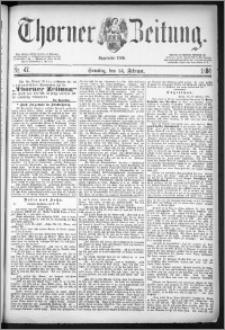Thorner Zeitung 1884, Nro. 47