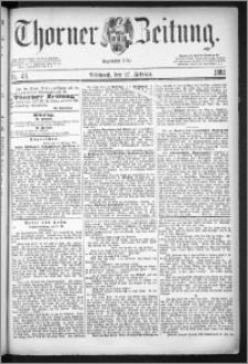 Thorner Zeitung 1884, Nro. 49