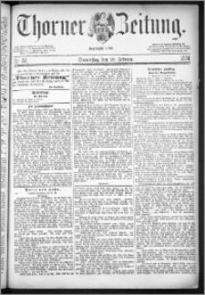 Thorner Zeitung 1884, Nro. 50