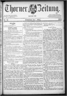 Thorner Zeitung 1884, Nro. 52