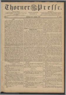 Thorner Presse 1888, Jg. VI, Nro. 1 + Beilage