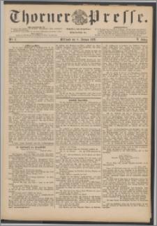 Thorner Presse 1888, Jg. VI, Nro. 3