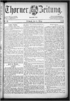 Thorner Zeitung 1884, Nro. 67
