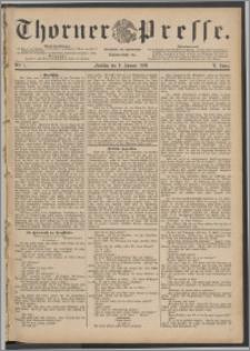 Thorner Presse 1888, Jg. VI, Nro. 7