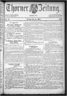 Thorner Zeitung 1884, Nro. 75