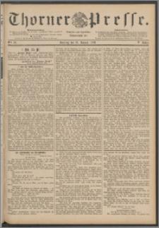 Thorner Presse 1888, Jg. VI, Nro. 25