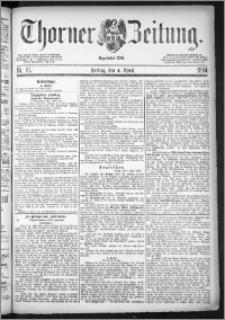 Thorner Zeitung 1884, Nro. 81