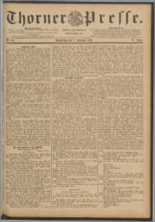 Thorner Presse 1888, Jg. VI, Nro. 28