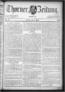 Thorner Zeitung 1884, Nro. 87 + Extra-Beilage