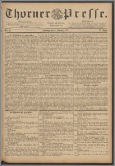 Thorner Presse 1888, Jg. VI, Nro. 31
