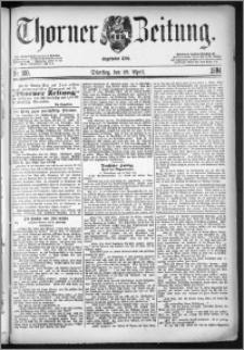 Thorner Zeitung 1884, Nro. 100