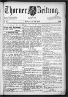 Thorner Zeitung 1884, Nro. 101